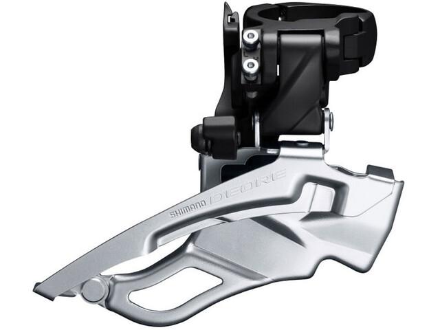 Shimano Deore Trekking FD-T6000 Front Derailleur 3x10 klemme høy down swing black